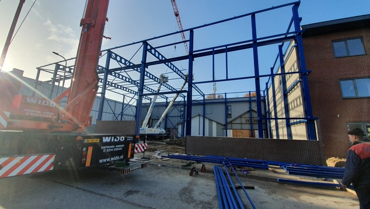 Nieuwbouw werkplaats Steenderen