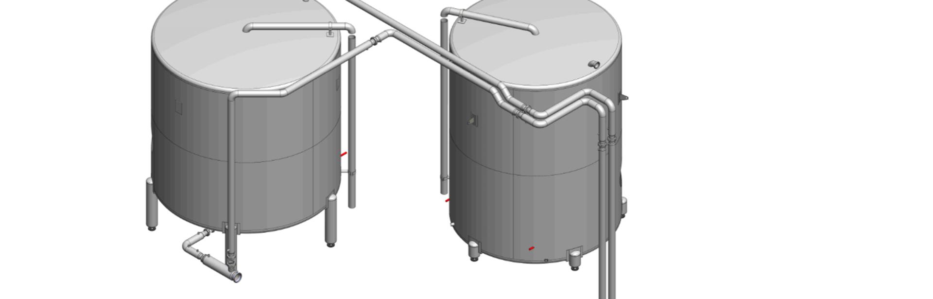 Verwarmde buffertanks